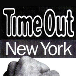 Agaboom press Time Out NY